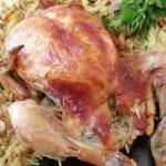 دجاجة-محشية-ومشوية-بالفرن