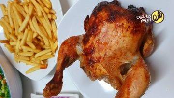 دجاج_عالقنينة_فروج_دجاجة_الدجاج_شو_طابخين_اليوم