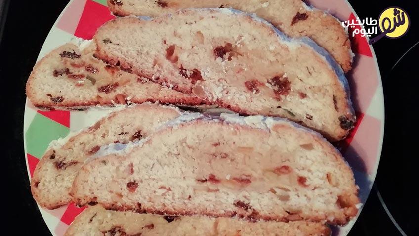 الخبز-الالماني-بالفواكه-المجففة-Stollen-شو-طابخين-اليوم