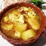 يخنة-البطاطا-بالدجاج-شو طابخين اليوم
