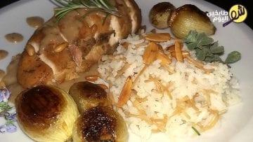 دجاج-ابلما-شو طابخين اليوم