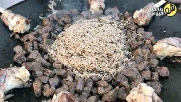 منسف-الرز-مع-اللحمة-بالعظم-2-شو طابخين اليوم